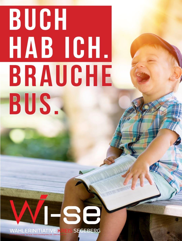 Buch hab ich. Brauche Bus.