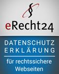 erecht24 Datenschutzinfo